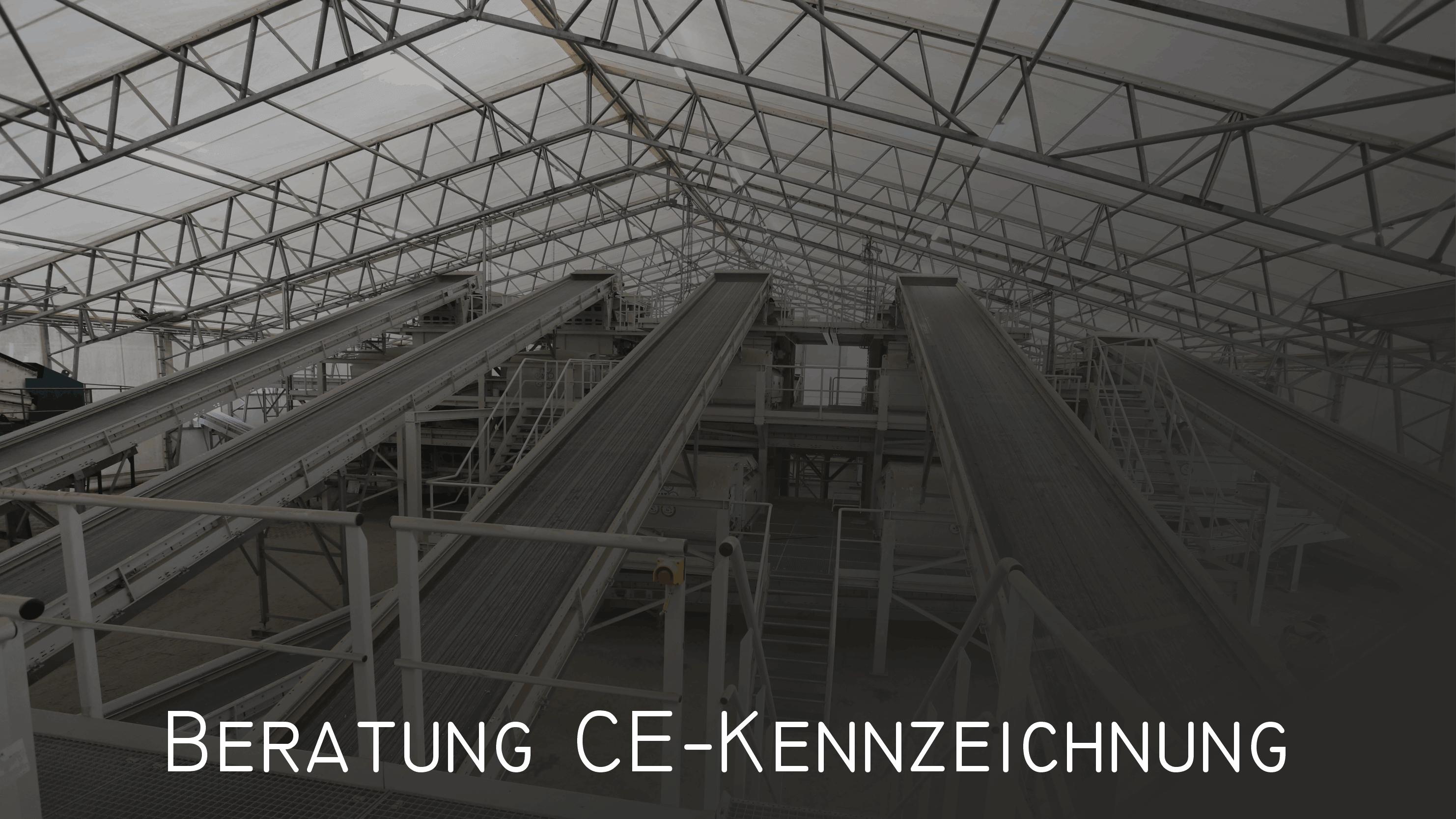 Leistungen CE-Kennzeichnung