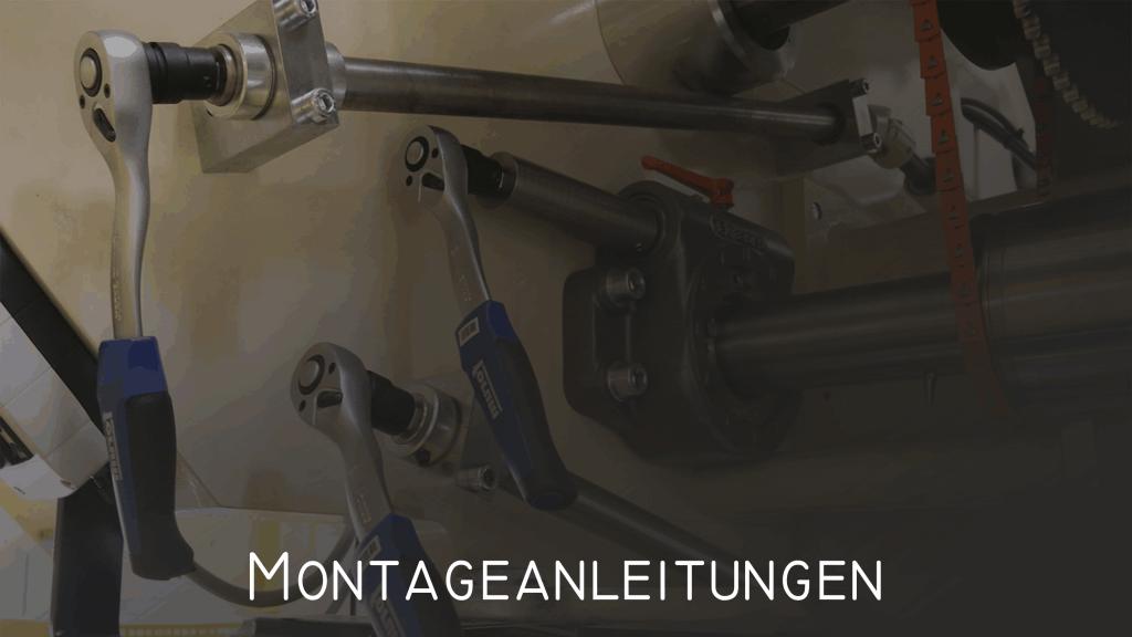 Leistungen Montageanleitungen