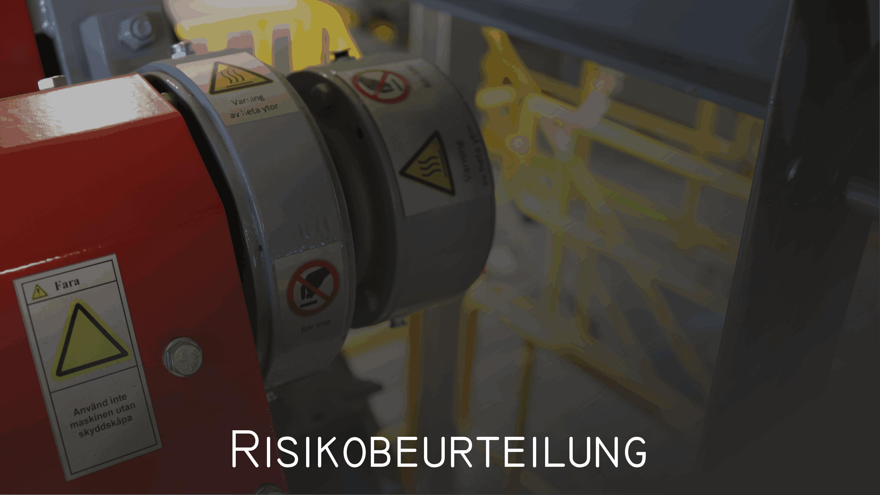 Leistungen Risikobeurteilungen